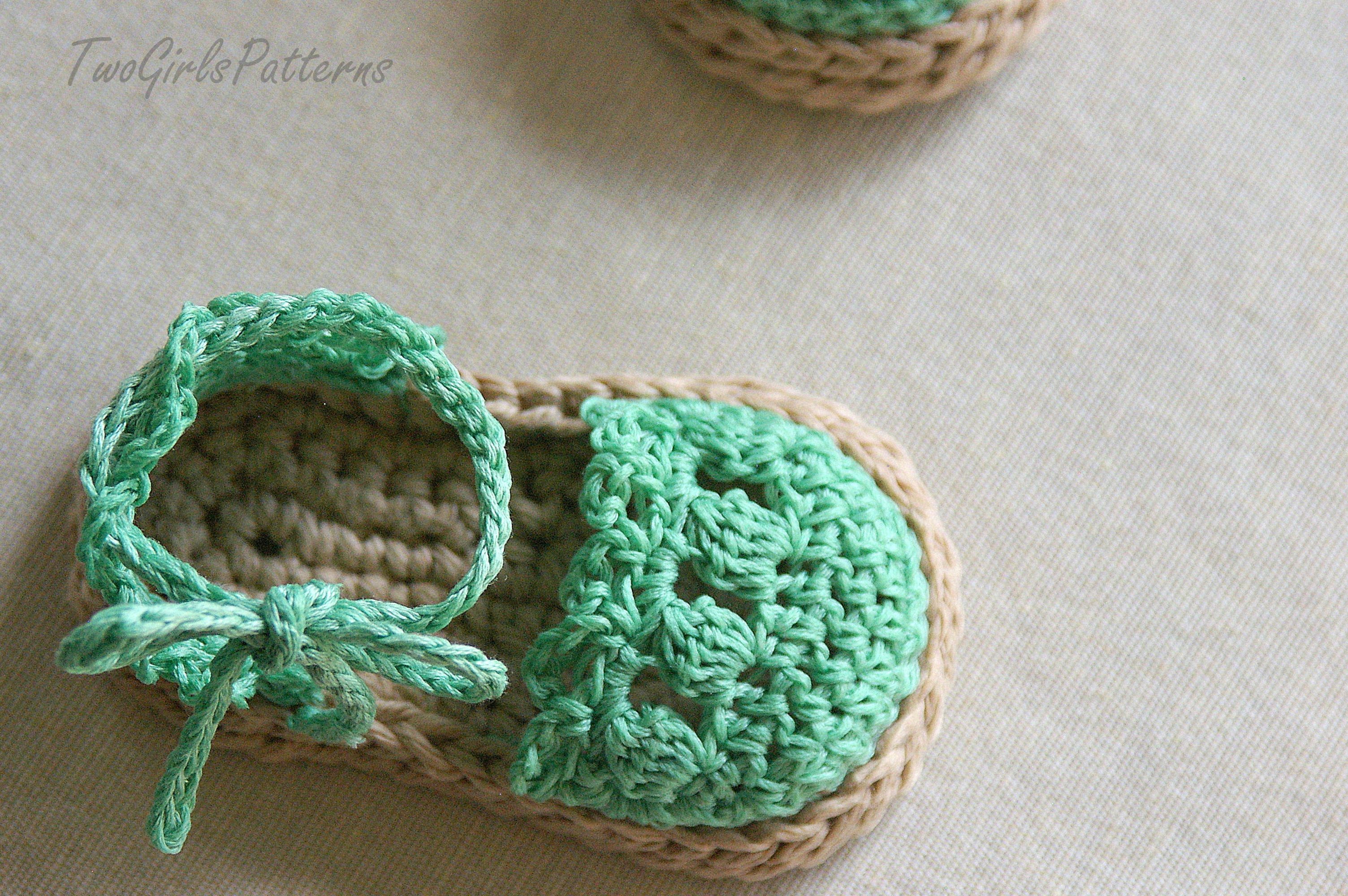 1000+ ideas about Crochet Baby Sandals on Pinterest ...